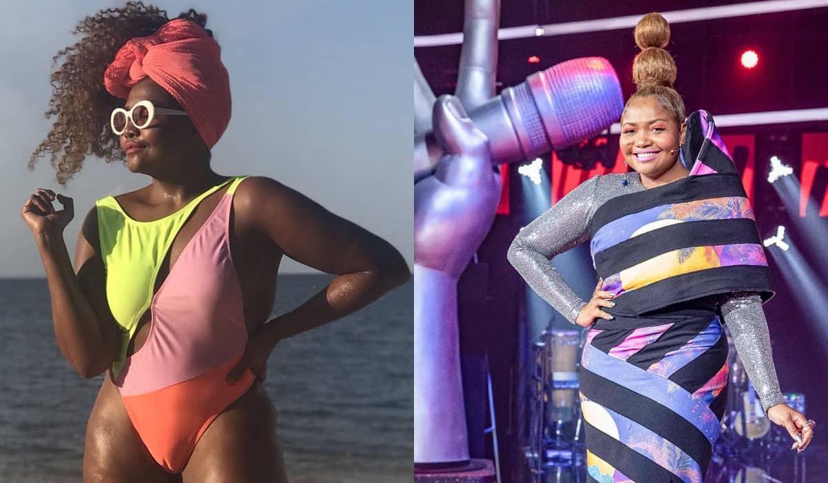 A cantora mencionou a intensa violência do bairro onde cresceu em Belém e acabou incomodando parte dos internautas