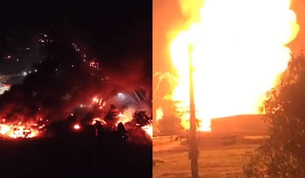 Com raio de destruição de 15 quilômetros, a explosão já deixa pelo menos uma morte e vítimas em estado grave