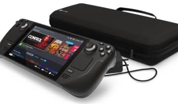 Com tela de 7 polegadas, trackpads duplos, microfones integrados, e uma APU personalizada pela AMD, o dispositivo promete rodar os jogos AAA mais recentes