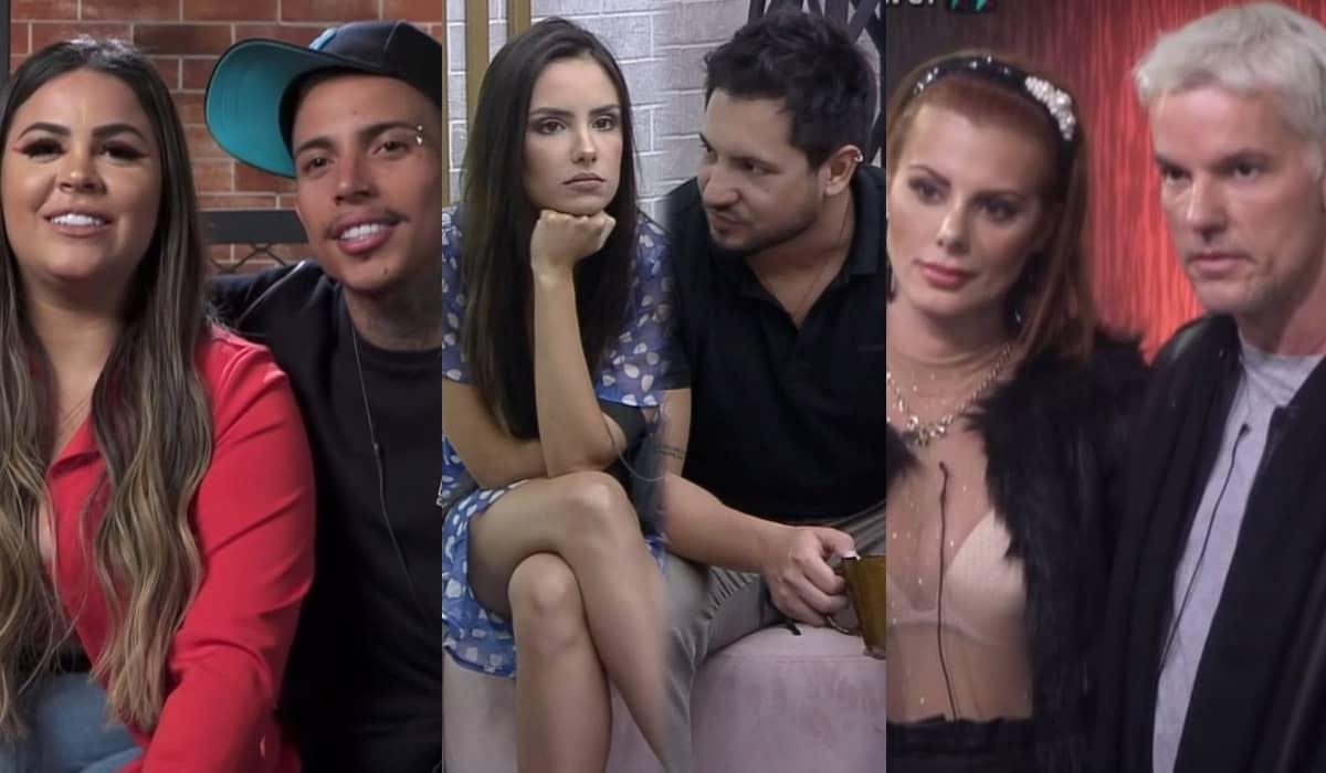 Deborah Albuquerque e Bruno Salomão; Thiago Bertoldo e Geórgia Fröhlich; e Mari Matarazzo e Matheus Yurley se enfrentam em uma DR decisiva