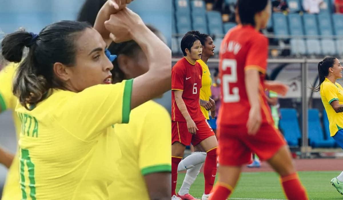 A partida válida pelos Jogos Olímpicos de Tóquio serviu para fornecer ânimo inaugural às brasileiras, que enfrentam a Holanda no próximo sábado (24)