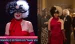 O vestido utilizado por Ana Maria Braga no programa desta quarta-feira (21) demorou um mês para ficar pronto