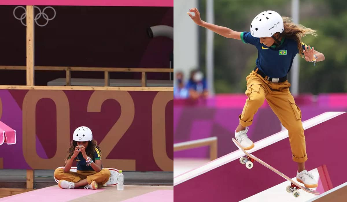 A maranhense de 13 anos garantiu a prata em Tóquio e se tornou a mais jovem brasileira a conquistar uma medalha nas Olimpíadas