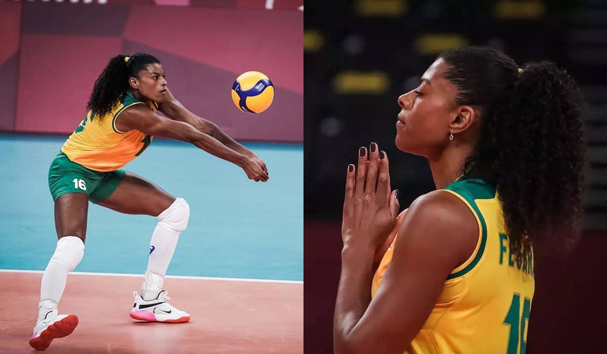 Com 26 pontos marcados, Fernanda Garay conduziu a seleção brasileira para uma reação efetiva contra as dominicanas