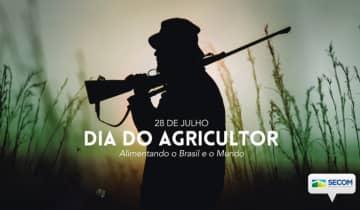 A Secretaria de Comunicação Social da Presidência da República utilizou a foto de um caçador para homenagear os agricultores brasileiros