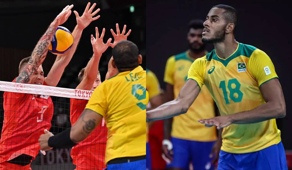 A seleção brasileira não conseguiu furar o bloqueio russo, pecou na defesa e errou os saques, facilitando a vida dos adversários