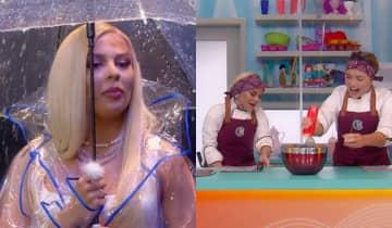 A cantora participou de várias dinâmicas elaboradas para o episódio e se divertiu ao lado da apresentadora Rafa Kalimann
