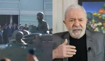 Lula considera o desfilo militar desta terça-feira uma 'coisa patética' e afirma que Bolsonaro não tem chances de vencer as eleições de 2022