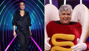 Menos votado da noite, o 'Dogão' foi desmascarado na estreia do The Masked Singer Brasil