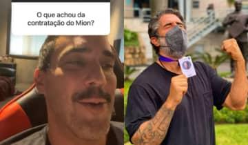 Os boatos de desavenças com o novo contratado da Globo foram desmentidos por Andre Marques nas redes sociais