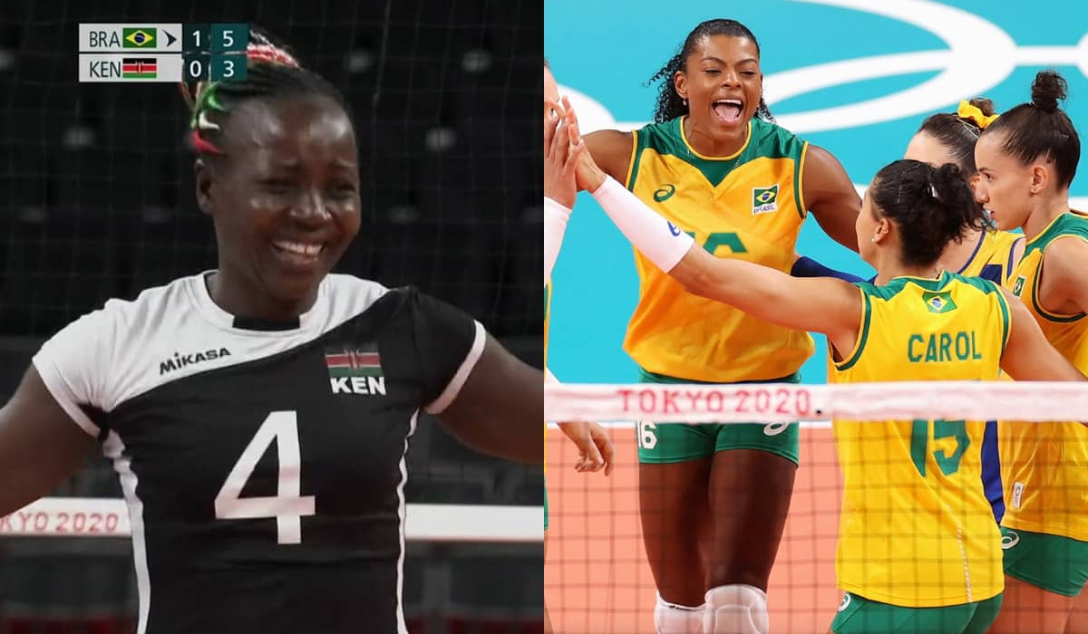 A vitória tranquila da seleção brasileira foi marcada pelo empenho e comemoração vibrante das quenianas durante o jogo