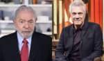 Depois de atacar o ex-presidente em abril, Bial pediu para Haddad ajuda-lo a garantir uma entrevista com Lula