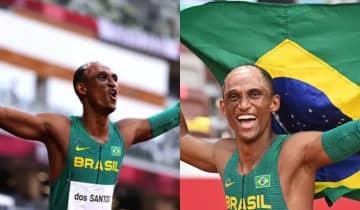 Alison é o primeiro medalhista do atletismo nas Olimpíadas de Tóquio e o 18º da história do Brasil
