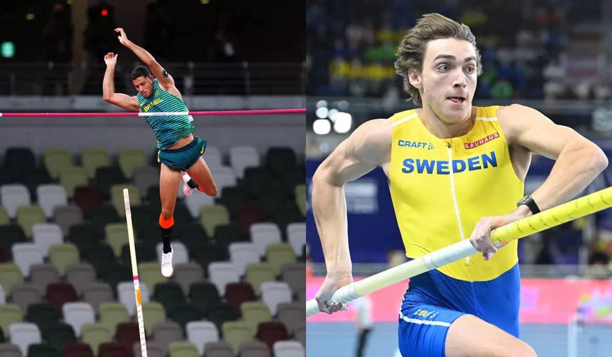 O sueco Armand Duplantis seguiu o favoritismo e conquistou a medalha de ouro com facilidade em Tóquio