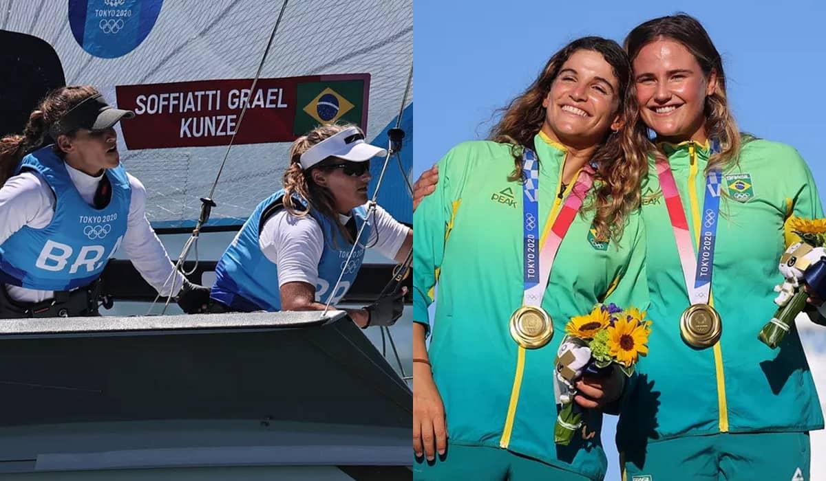 A dupla brasileira manteve o equilíbrio durante toda a competição e garantiu o ouro com estratégia e determinação