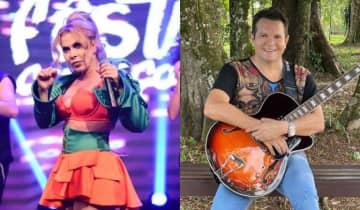 A cantora revelou que fará uma turnê intitulada 'Isso é Calypso' e irritou o ex-marido Ximbinha