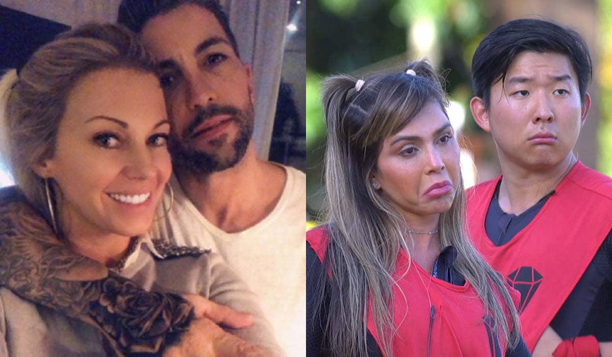 A argentina afirmou nas redes sociais que o empresário Tati Fdez a deixou após as polêmicas com Pyong no reality da Record