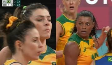 O Brasil virou o jogo contra o Comitê Olímpico Russo e garantiu uma vitória emocionante por 3 sets a 1