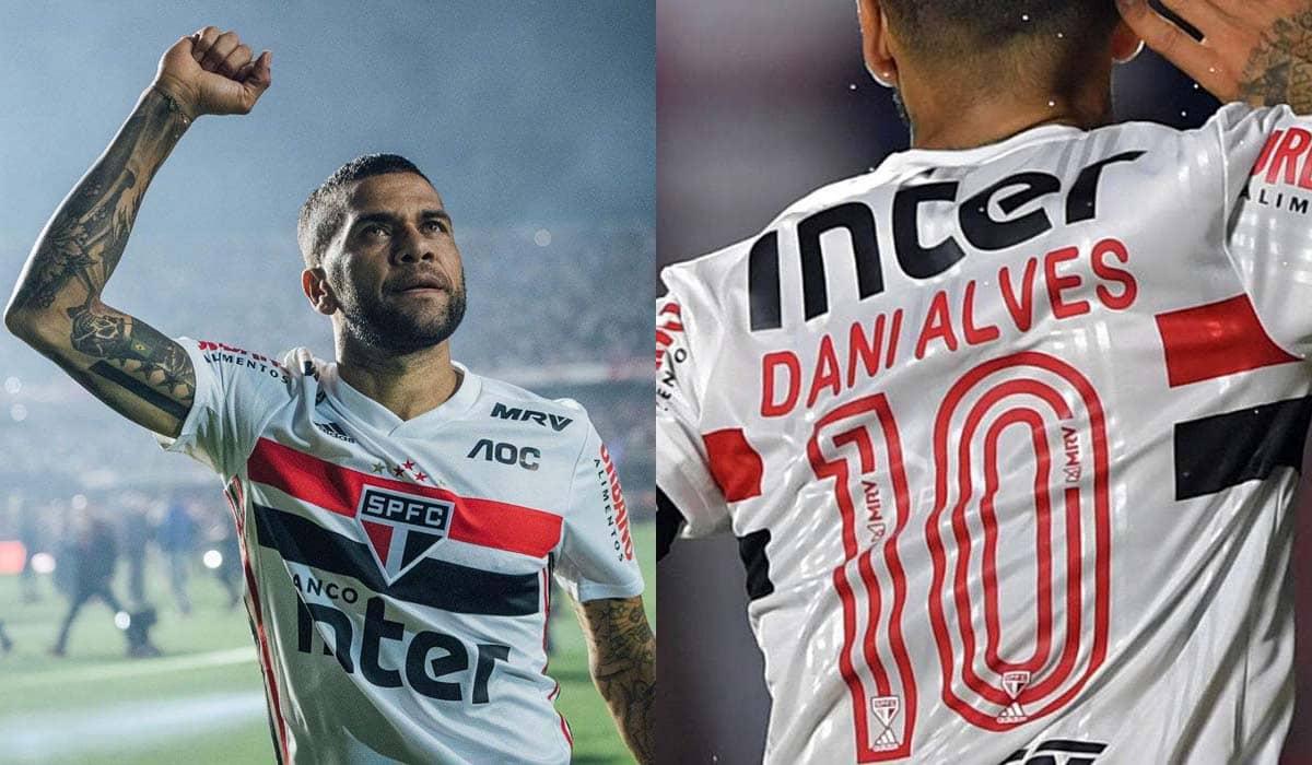 O diretor do São Paulo, Carlos Belmonte, confirmou a saída de Alves nesta sexta-feira (10)