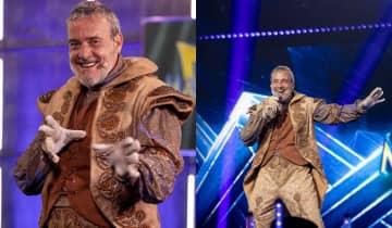 O ator de 55 anos foi o quinto desmascarado do reality show apresentado por Ivete Sangalo