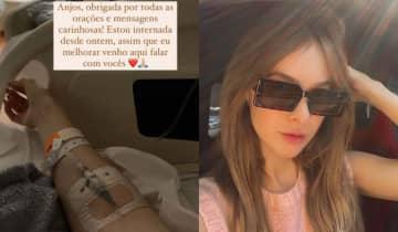 A influencer utilizou a sessão de Stories no Instagram para agradecer aos fãs pelas mensagens de carinho