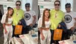 O trio se reuniu para um almoço em Dubai e posou para algumas fotos, publicadas no perfil de Tierry no Instagram