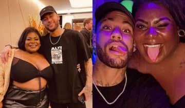 Jojo e Neymar trocaram elogios nas redes sociais e curtiram uma balada juntos em Paris