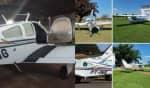 As três aeronaves foram roubadas por pelo menos 18 criminosos na madrugada desta segunda-feira (6) em Aquidauana