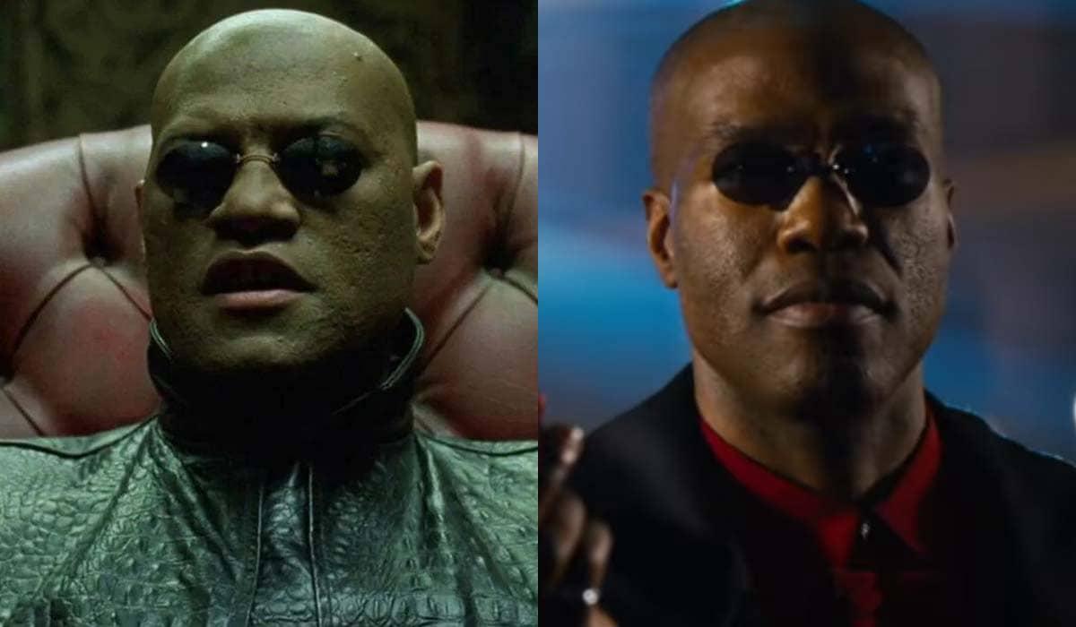 Fãs desavisados se impressionaram com a ausência já confirmada de Laurence Fishburne no trailer de Matrix Resurrections