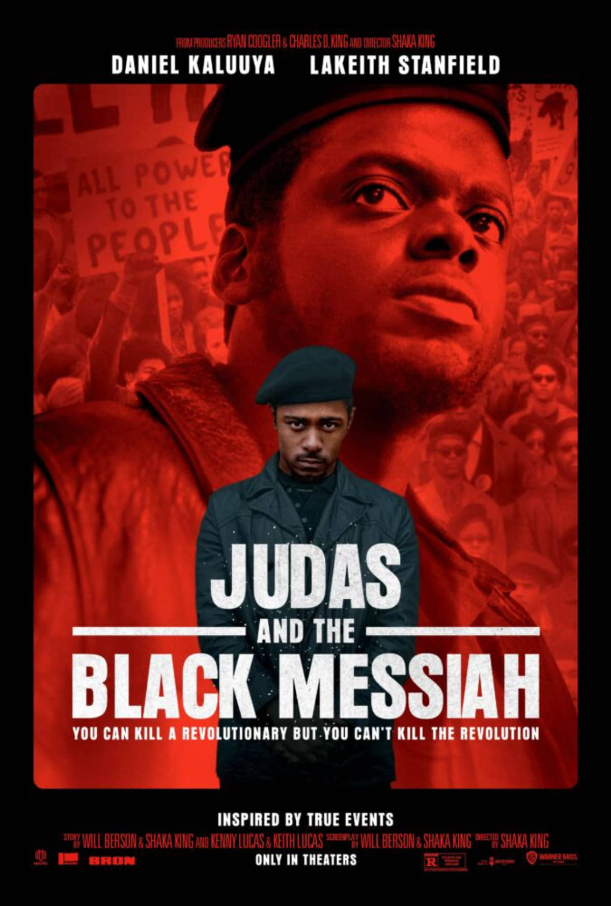 Pôster de 'Judas e o Messias Negro'.