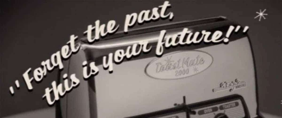 Anúncio no meio da série mostra a Toast Mate 2000
