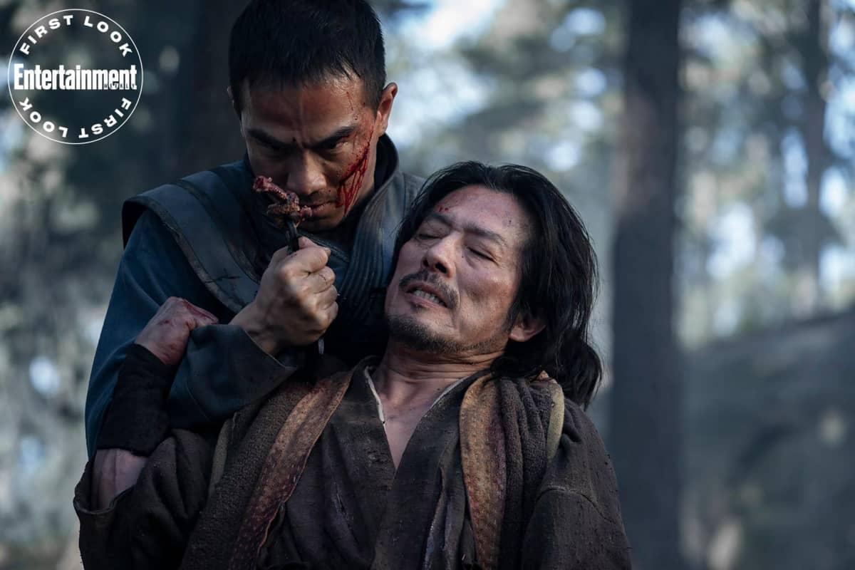 Hanzo Hasashi e Bi-Han. Crédito: Mark Rogers/New Line/Warner Bros.