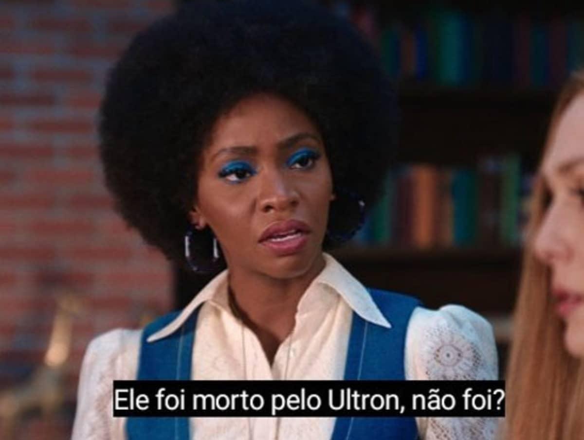 Geraldine enfurece Wanda ao mencionar a morte de Pietro pelo vilão Ultron