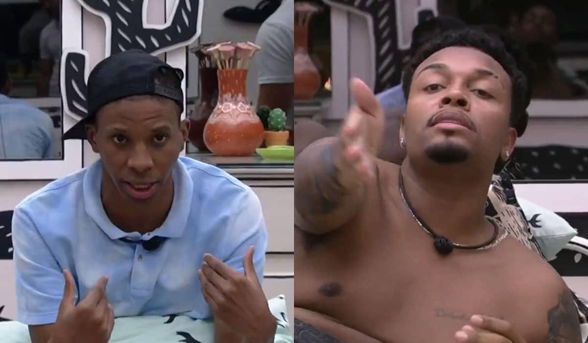 Lucas e Nego Di se desentenderam durante conversa sobre combinação de votos