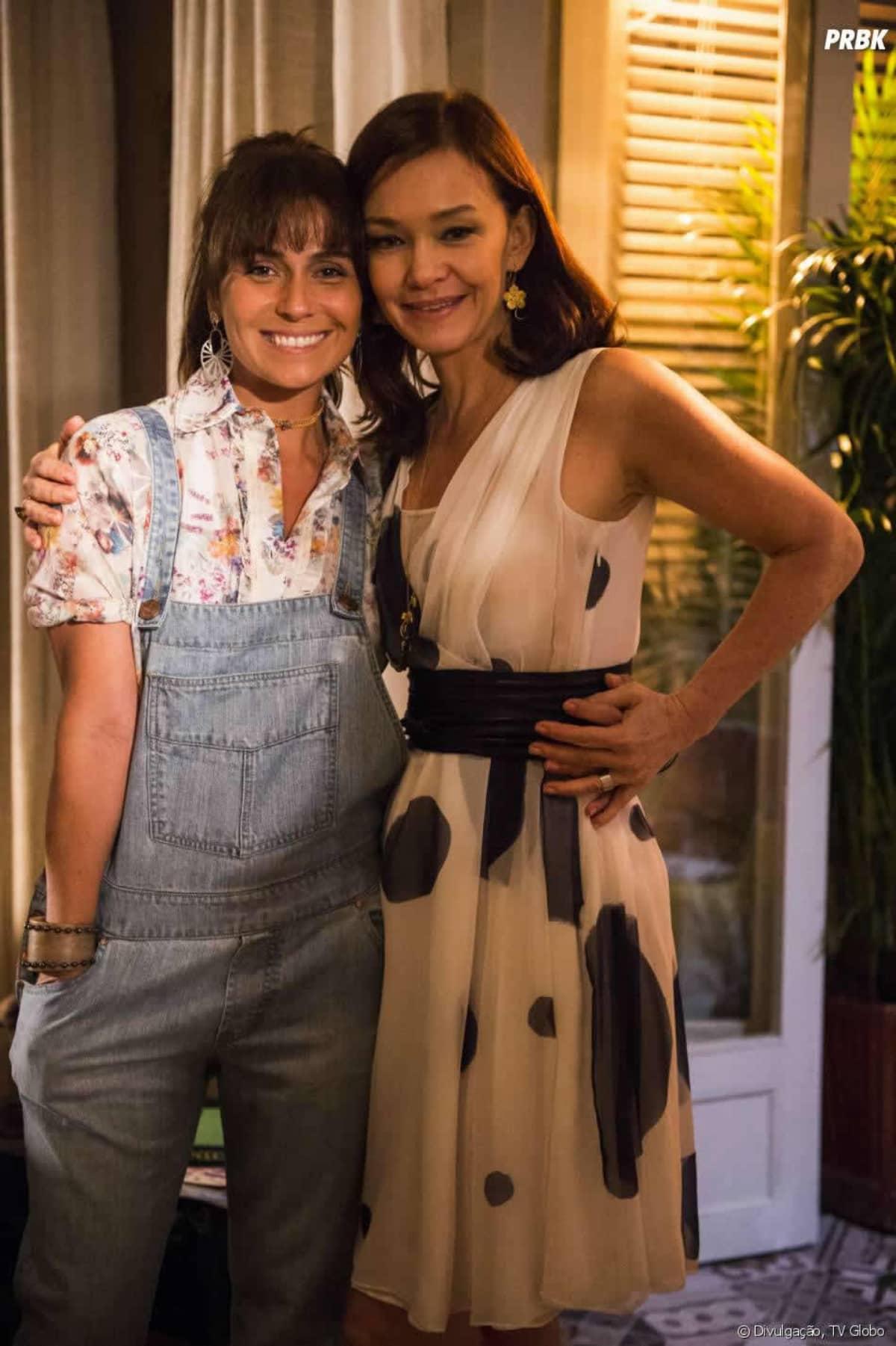 Giovanna Antonelli e Julia Lemmertz serão inimigas na novela Quanto Mais Vida Melhor.