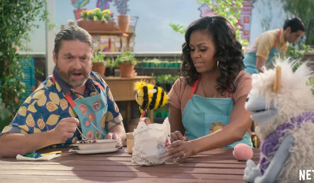 Ao longo da série, Michelle receberá convidados e visitará diversas localidades com culturas e comidas diferentes