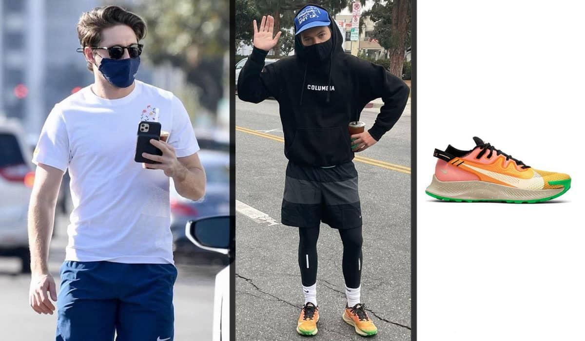 Os fãs acreditam fielmente que os dois realmente caminharam juntos por causa dos detalhes de vestuário exibidos na foto anterior