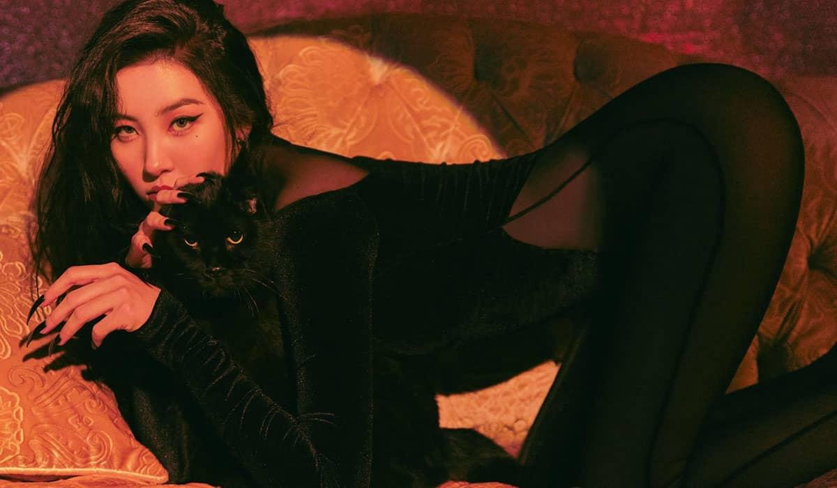 Sunmi se inspirou em felinos em seu mais novo MV