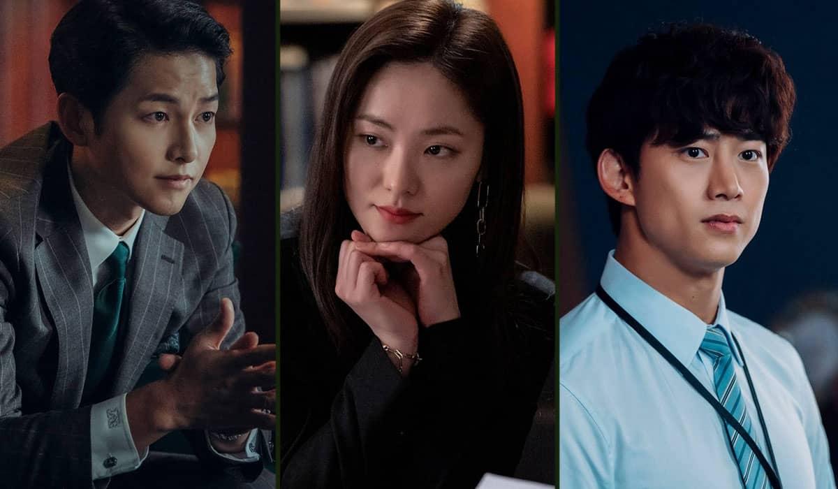 Song Joong-ki, Jeon Yeo-bin e Ok Taec-yeon formam o elenco principal de 'Vincenzo'