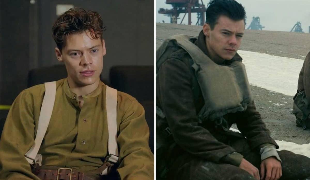 Styles garantiu vários elogios com sua performance em Dunkirk, de Christopher Nolan