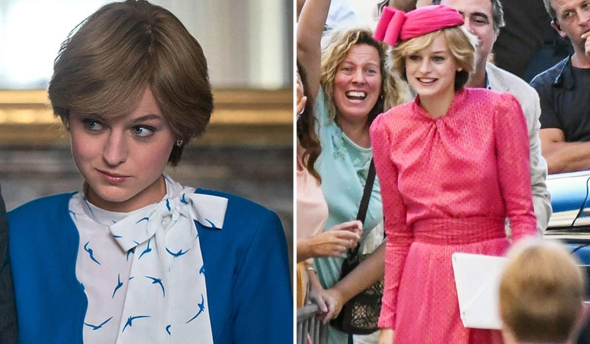 Corrin ficou mais conhecida pelo papel da princesa Diana em The Crown