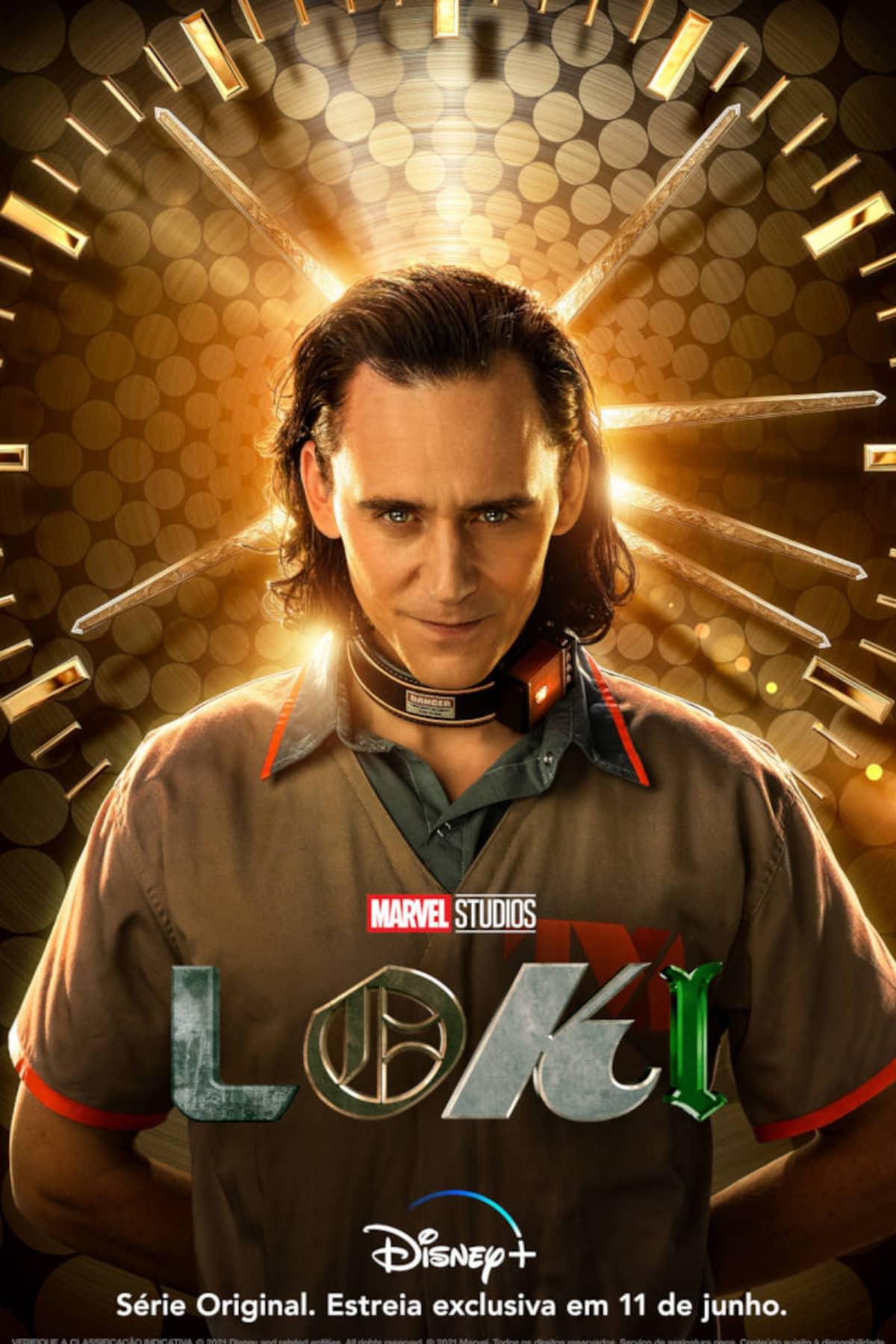 Pôster oficial de 'Loki'