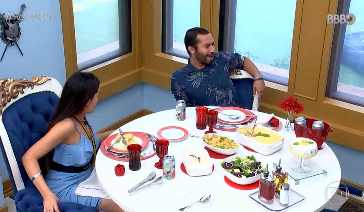Gilberto e Juliette querem chegar juntos à final do BBB