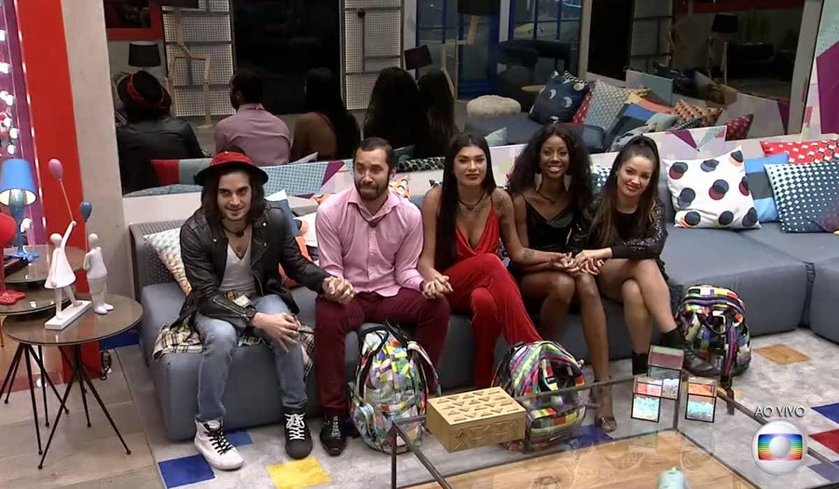 O clima de união tomou conta do Top 5 do Big Brother Brasil