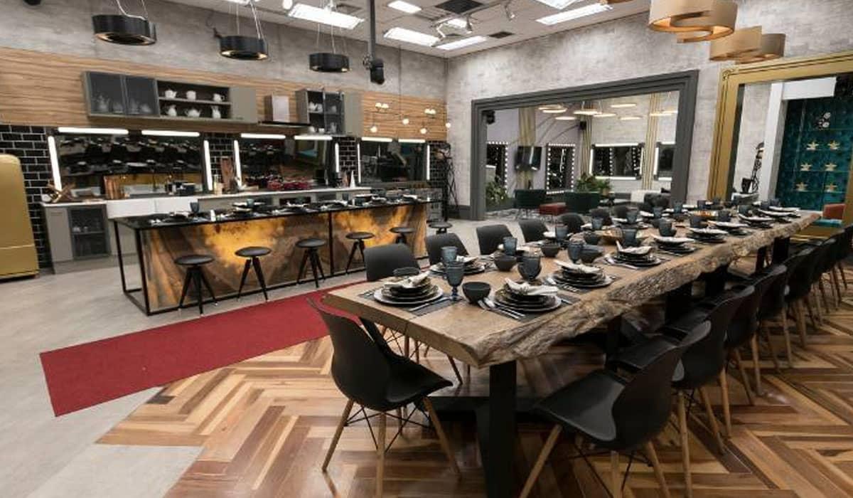 Cozinha do Power Couple Brasil 5. Foto: Record