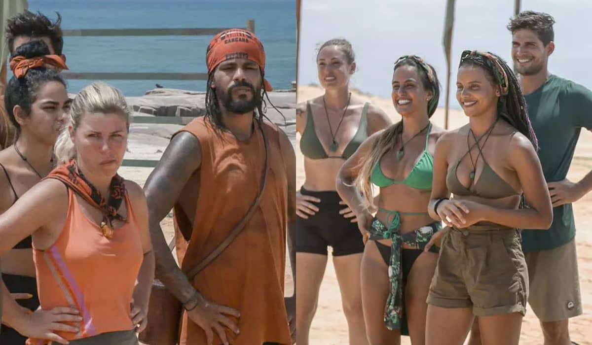 Em série de fotos no Gshow, a Globo destaca a diferença de expressões dos integrantes da Carcará e Calango no episódio 4