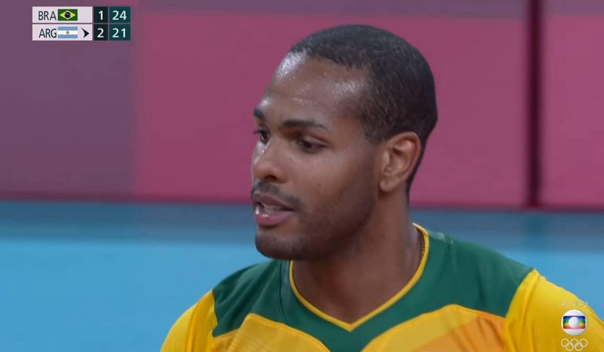 Leal e Lucarreli impulsionaram a seleção brasileira com fortes saques e ataques rápidos contra os argentinos