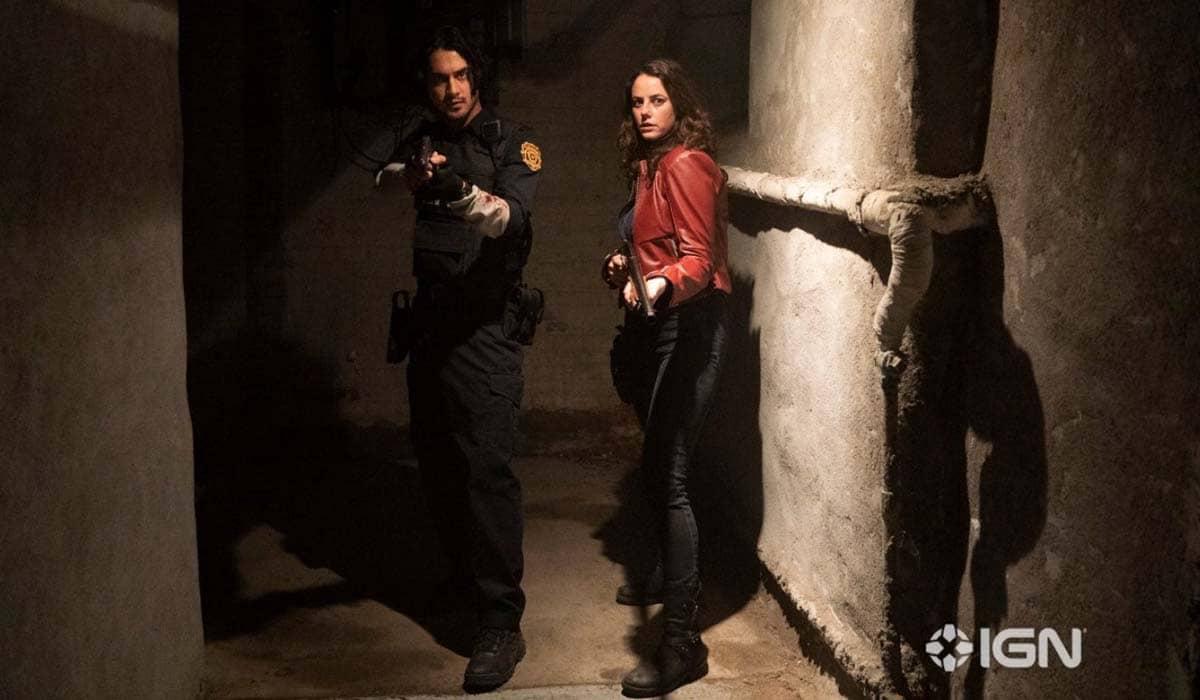 Avan Jogia e Kaya Scodelario interpretam Leon e Claire, respectivamente